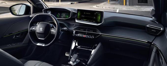 Nouvelle Peugeot 208 interieurs